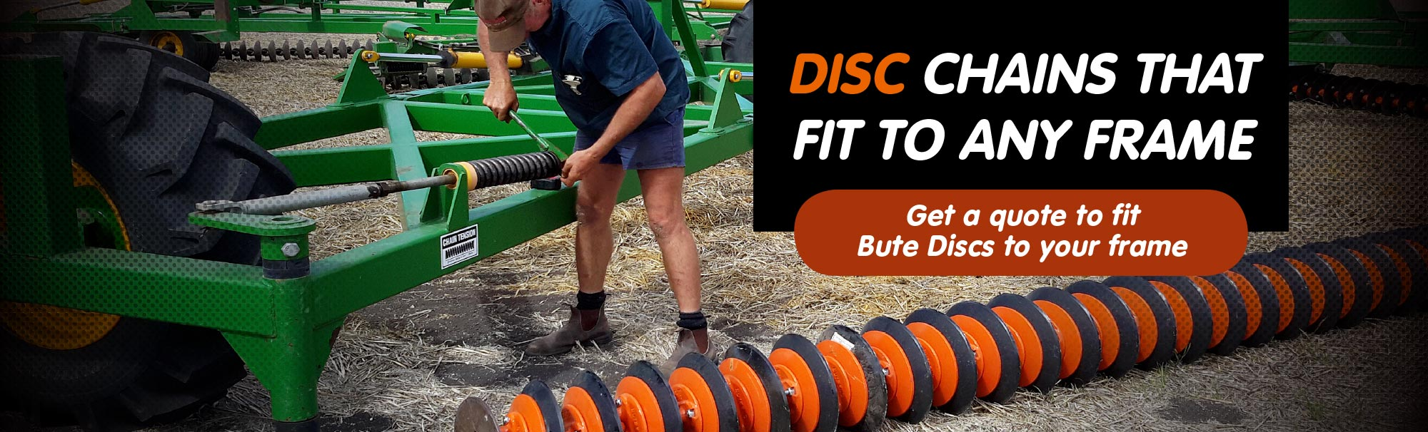 Humdinger Harrow Disc : Bute engineering the best discs on market